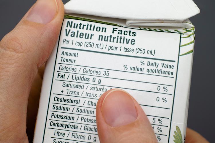 Cómo se lee una etiqueta nutricional