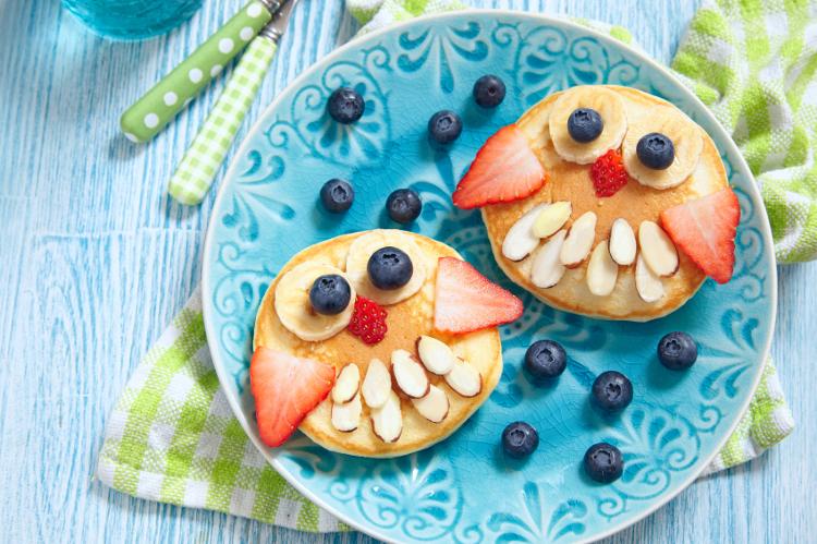 Desayuno saludable niños