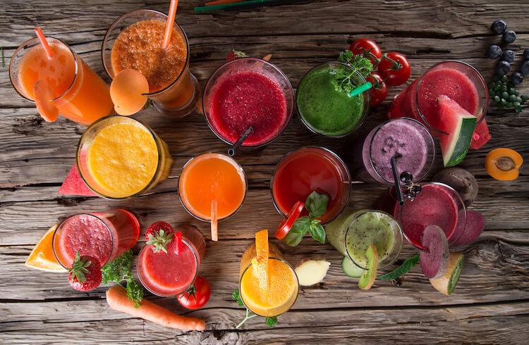Cómo preparar zumos de frutas saludables