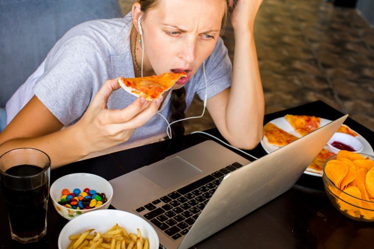 Estrés engordar