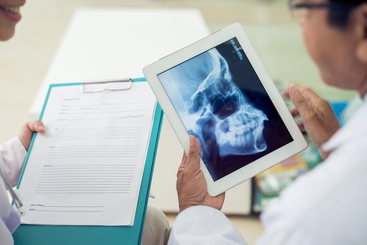 Radiografía para ortodoncia