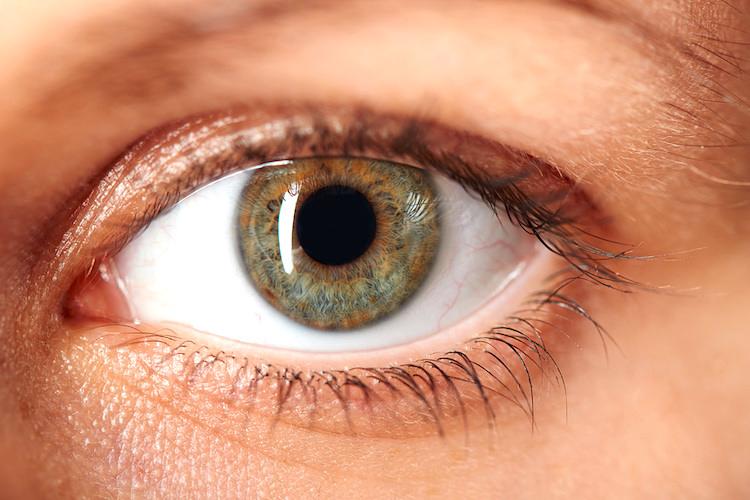 El color de los ojos del bebé