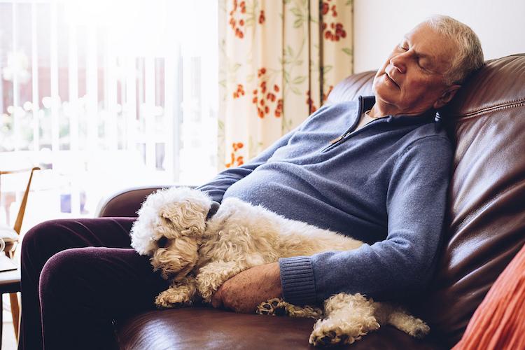 Problemas de sueño de los mayores