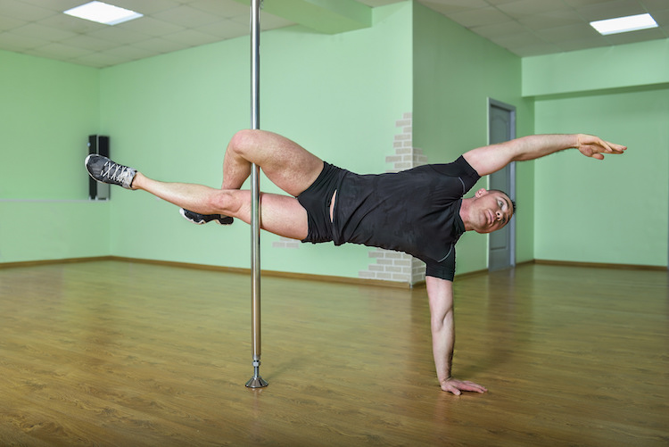Pole dance en barra