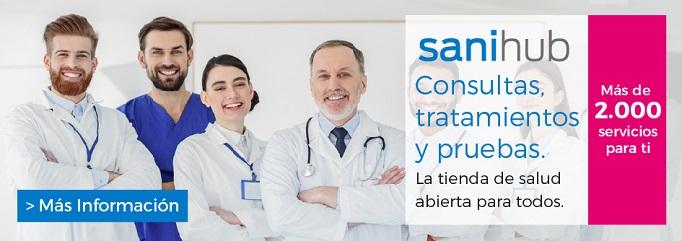 Consulta, tratamientos y pruebas