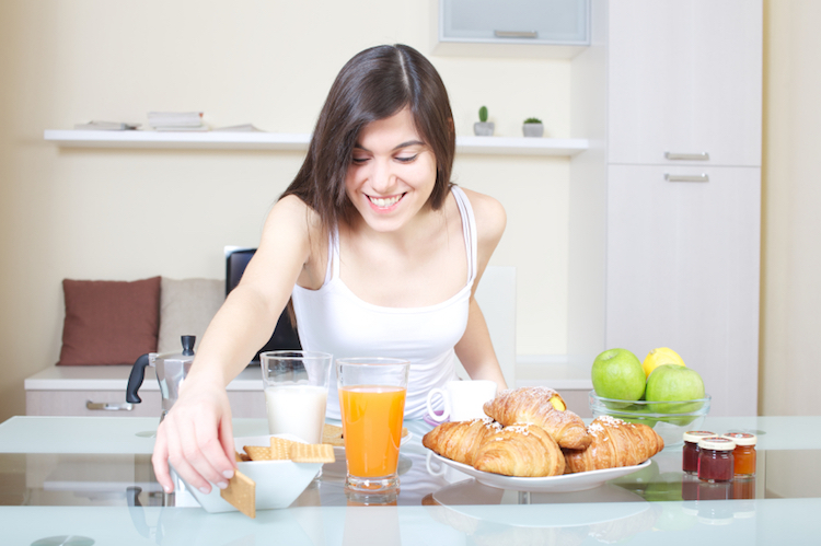 desayunos nutritivos para antes de hacer ejercicio