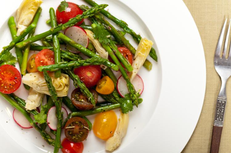 Prebióticos en verduras