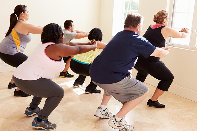 Ejercicio y sobrepeso