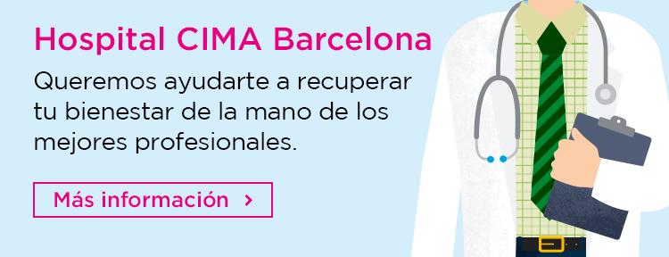 Información sobre la especialidad de psicología del Hospital CIMA Barcelona