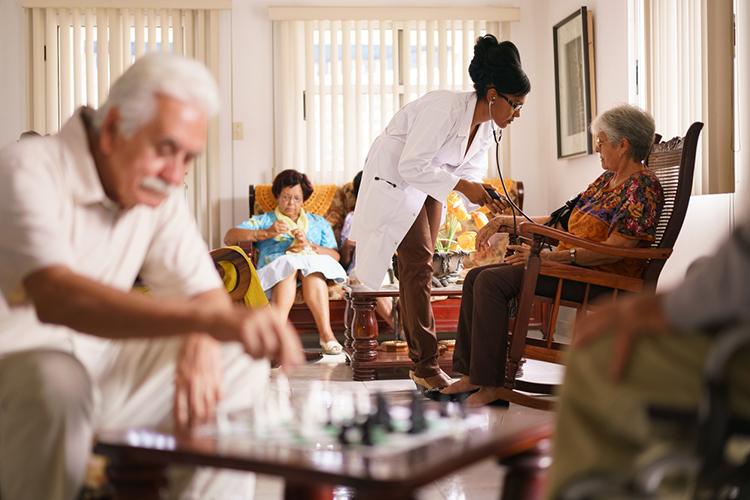Centro geriátrico