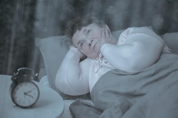 Detener de inquietud cómo el sueño