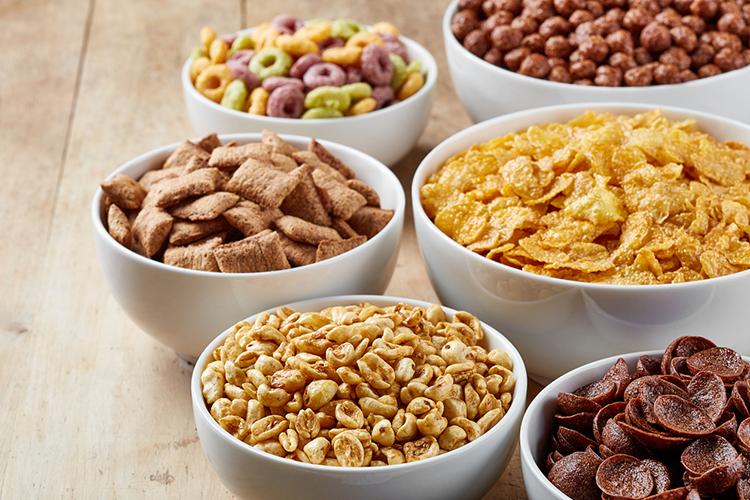 Cereales con azúcar