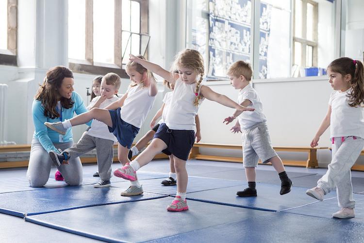 Beneficios de la gimnasia ritmica en ninos
