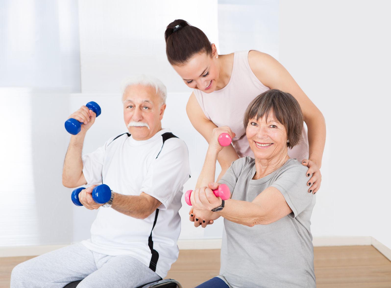 ejercicio físico tercera edad