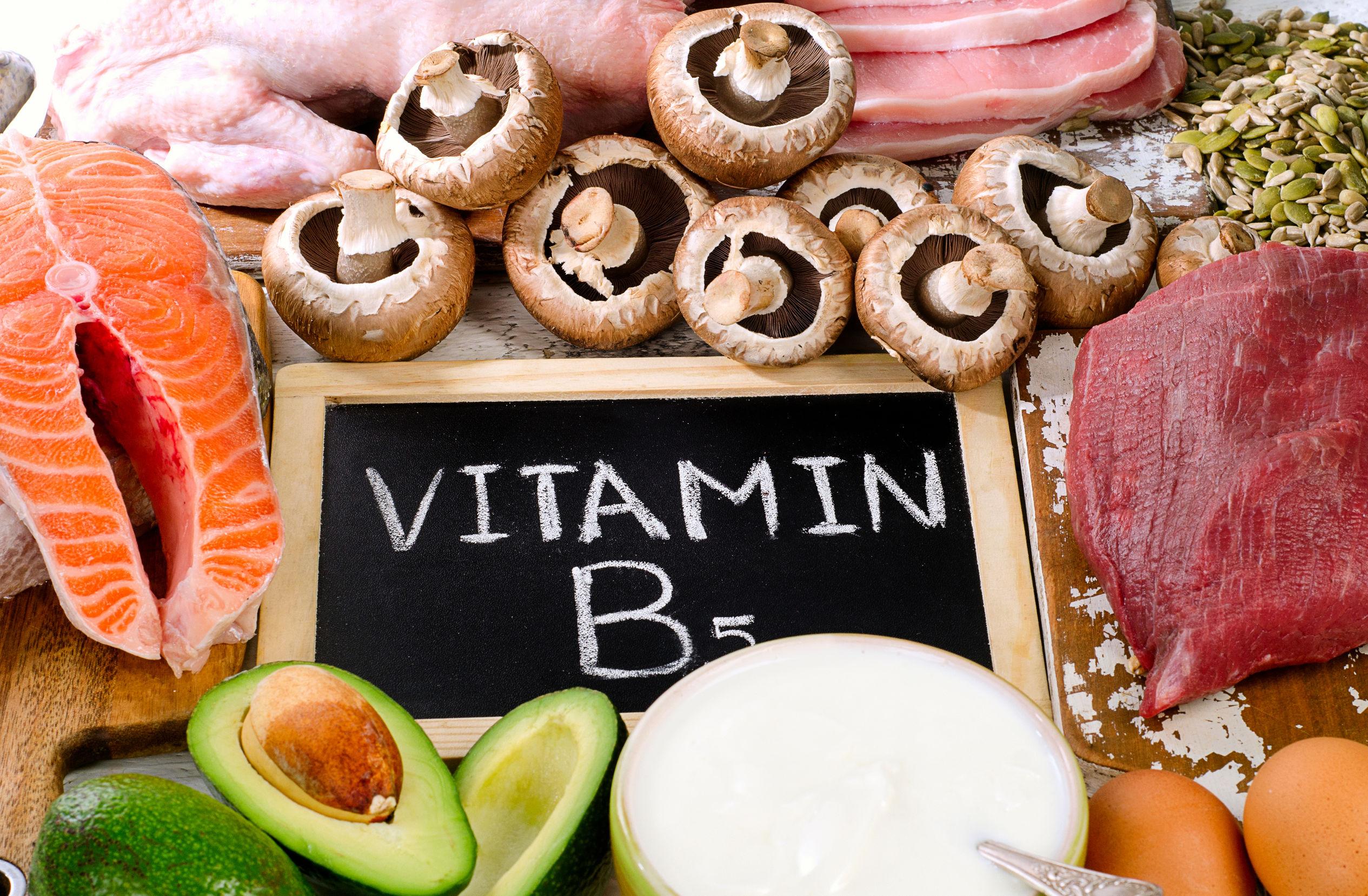 Alimentos ricos en ácido pantoténico o vitamina B5