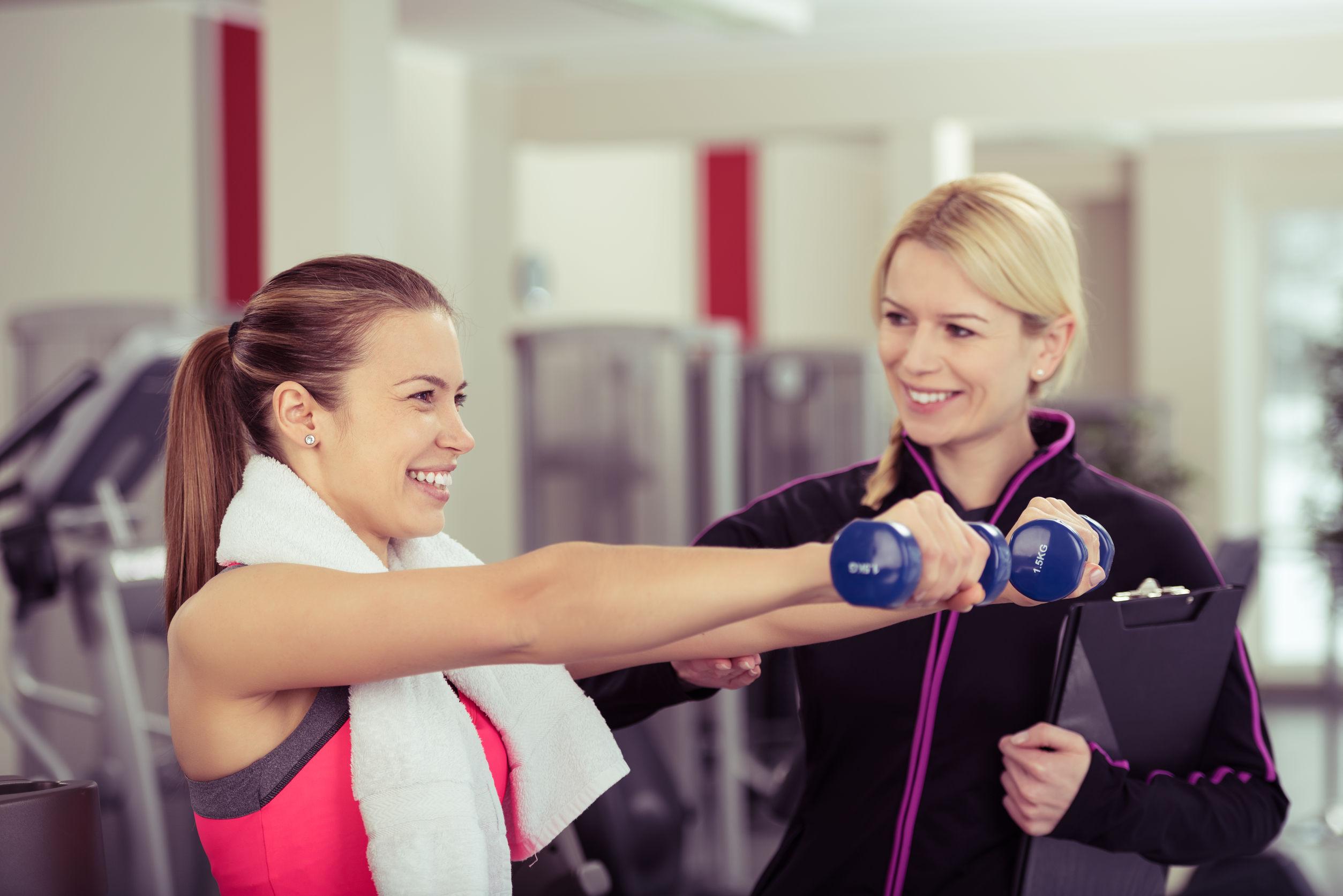 entrenador ejercicio