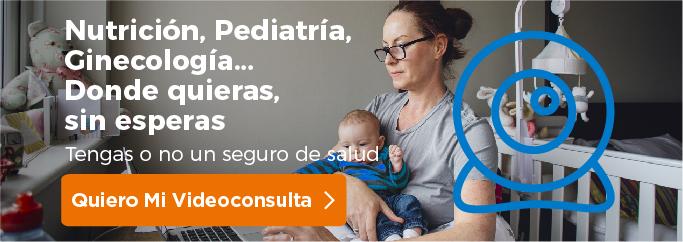 Videoconsulta nutrición, pediatria y ginecología